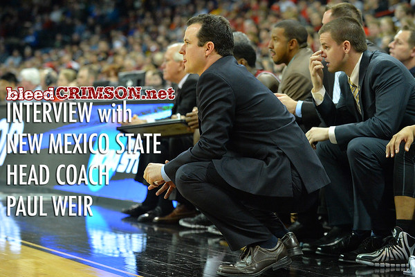 bleedCrimson.net Interview with New Mexico State Head Coach Paul Weir