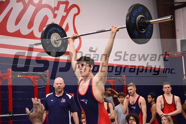 Boys Weightlifting 02*20*19