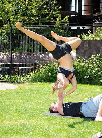 Hasna & Ben  Acro Yoga 5-5-2013