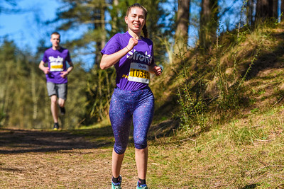 Resolution Run Anglesey - 10K Runners Lap 2 at 3.5kM