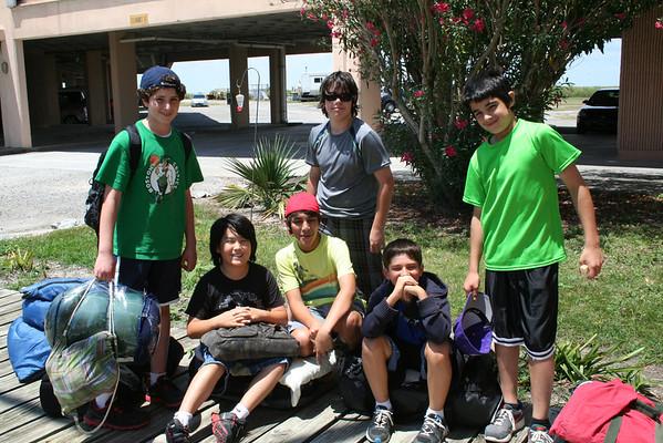 2012.5.9 6th grade trip to LUMCON