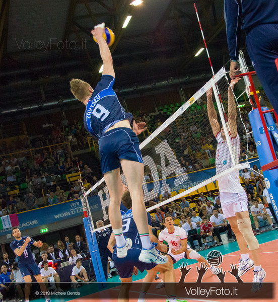 Ivan Zaytsev [ITA] attacco - Italia-Iran, World League 2013 - Modena