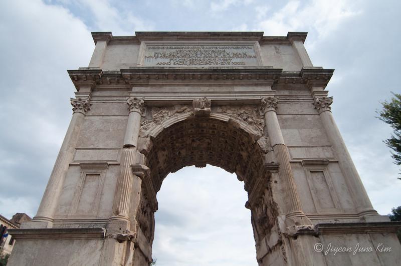 Arco di Tito (Arch of Titus) in Roman Forum