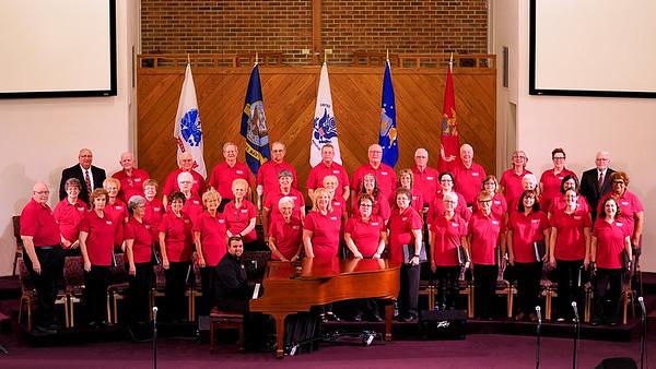 Mississinewa Valley Choir @ Brookhaven Church  10-18-18