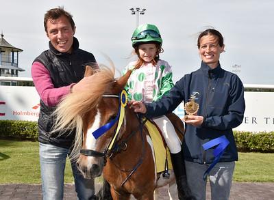 Ponnygalopp Jägersro 170628