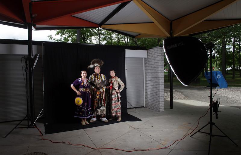 Indigenous dancers at Vincent Massey Park in Ottawa.