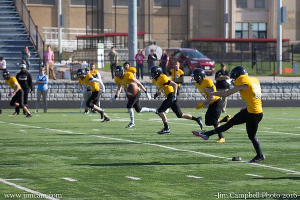 Football UW Panthers vs Michigan State