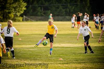 September 3, 2015 - U11B vs U10A Scrimmage