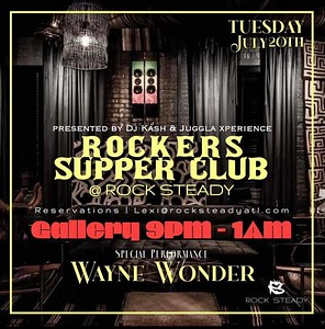 ROCKERS SUPPER CLUB FEAT. WAYNE WONDER LIVE