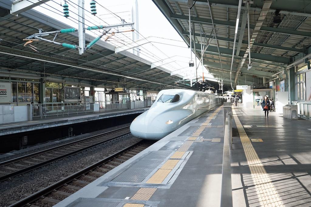 Sanyo Shinkansen, Kobe. Editorial credit: funboxphoto / Shutterstock.com