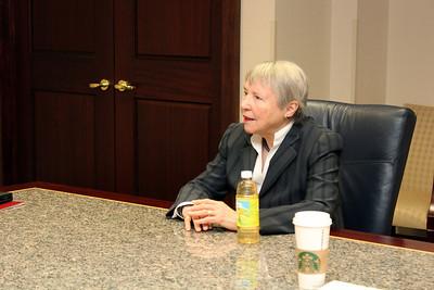 Dr. Carol Aschenbrener Visit