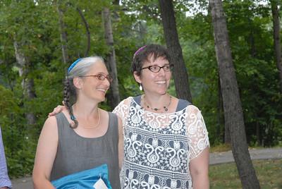 Amy and Liddy at Thomas Lake Park in Eagan