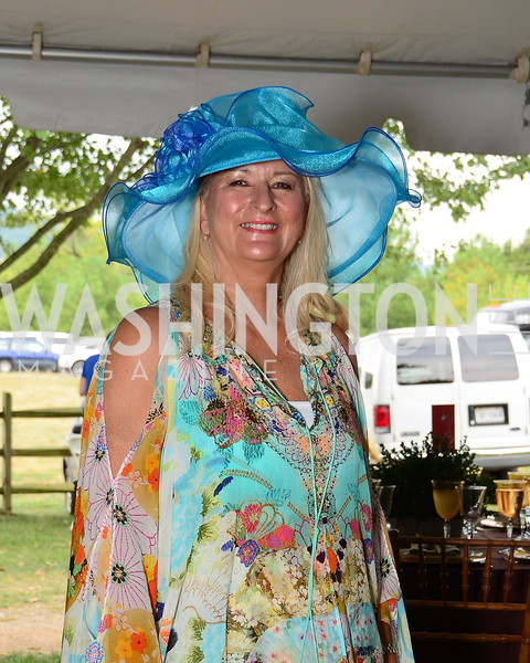 Debbie Nash,  NVTRP Ride to Thrive Polo Classic, Great Meadow, Sep 28, 2019, photo by Nancy Milburn Kleck