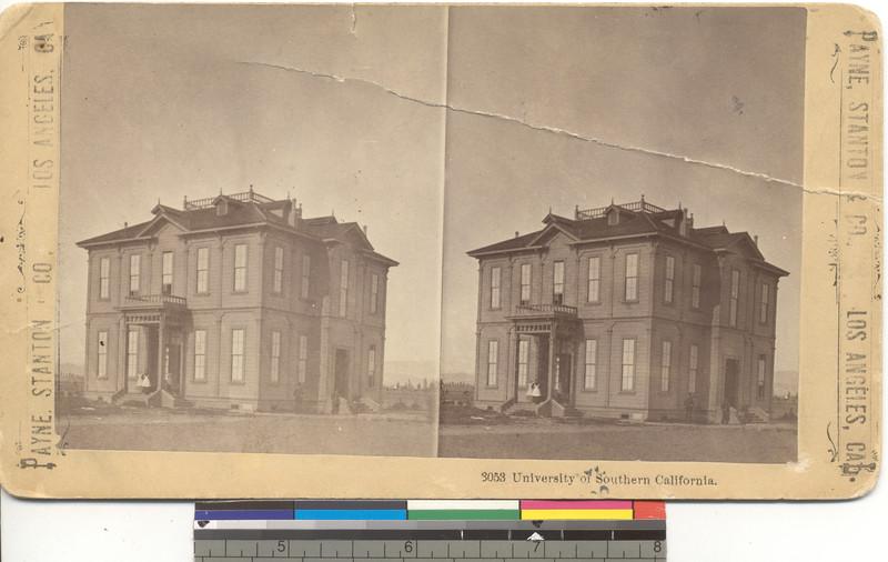 Widney Hall, USC, 1880s