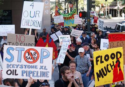 KXL Pipeline Protest-Denver-9/21/13