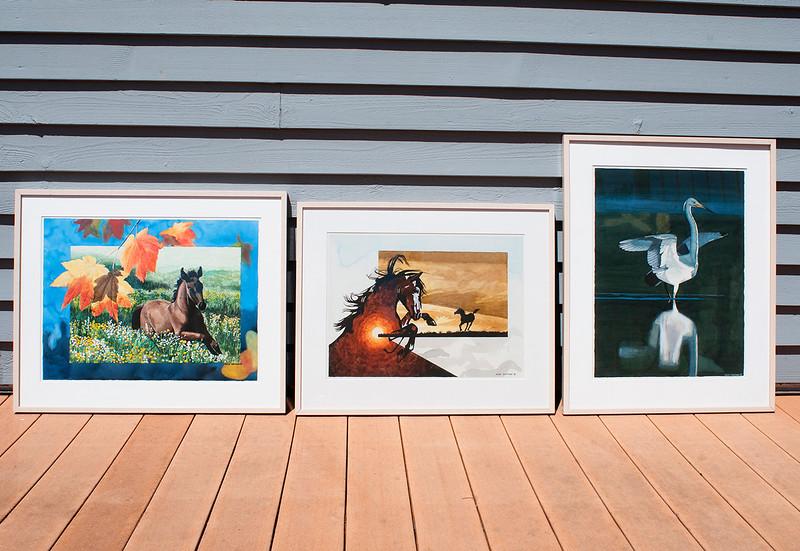 Original Framed Watercolors