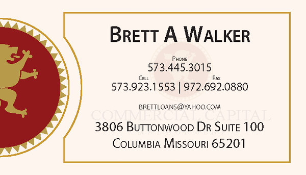 Commercial Capital Business Card