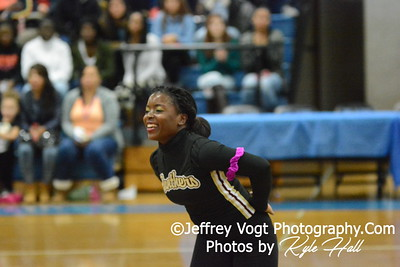 1-10-2015 Paint Branch HS Varsity Poms at Blake HS Invitational, MCPS Championship, Photos by Jeffrey Vogt Photography with Kyle Hall