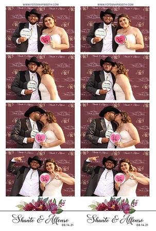 Shante & Alfonso's Wedding 2021