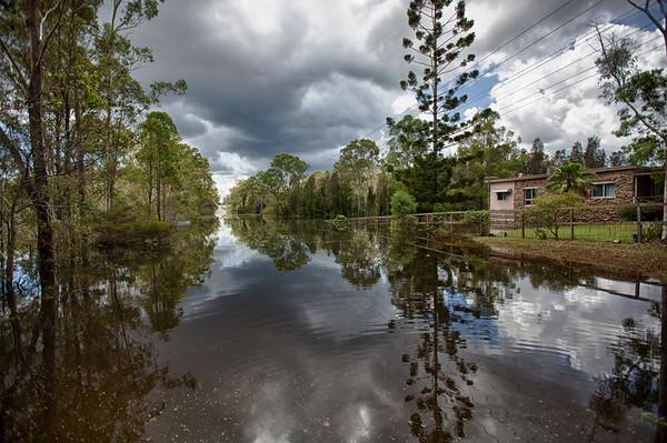 2013 Logan Reserve Floods