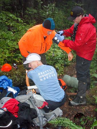 Tiger Mountain Injured Hunter