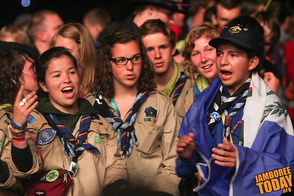 Scouts at the 2011 World Scout Jamboree