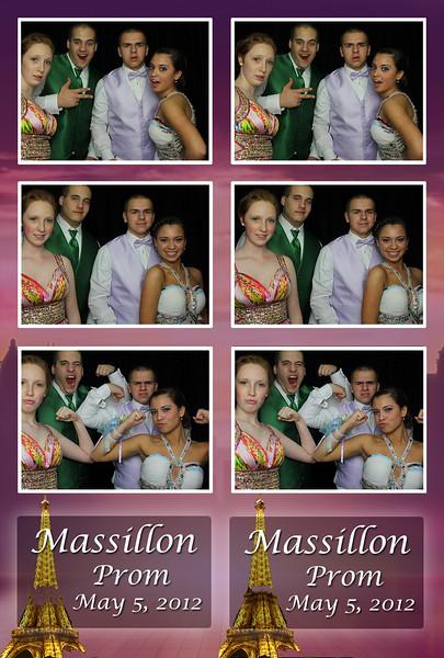 Massillon Washington Prom 2012