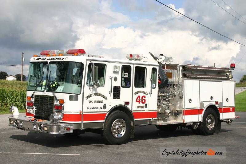West Pennsboro Engine 46: 1994 HME/4 Guys 1500/1000