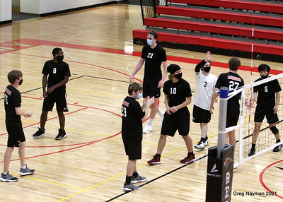 Minnehaha v Mounds Park Volleyball by GMN