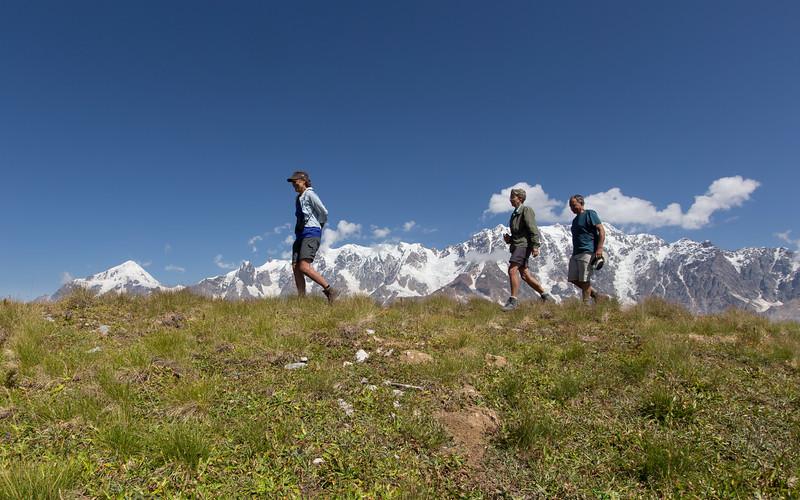 Ushguli,  Mt Guri, Mt Shkhara