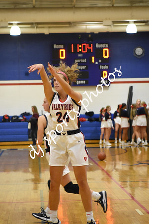 2019-12-17 SHA Varsity Girls Basketball vs Atherton
