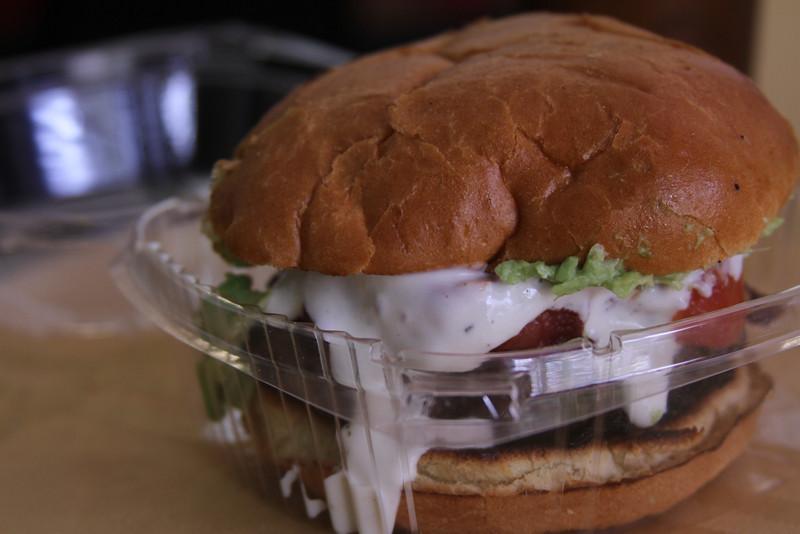 Feta Burger