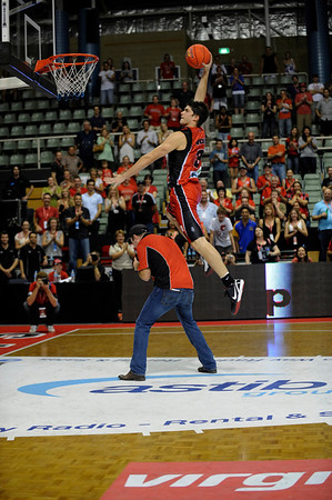 Perth Wildcats def Tigers 23/01/2010