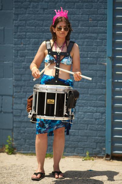 The Little Drummer Mermaid