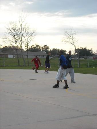 CYO Basketball Practice 1/11/09