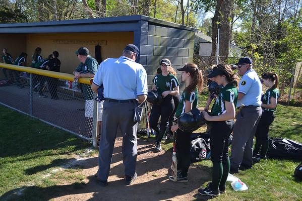New Milford Lady Knights vs Old Tappan Softball