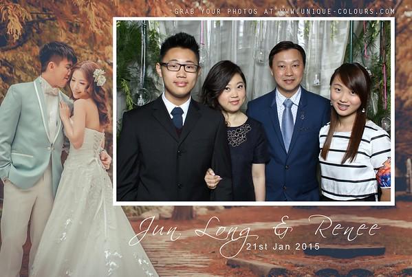Junlong + Renee Photobooth Album 1