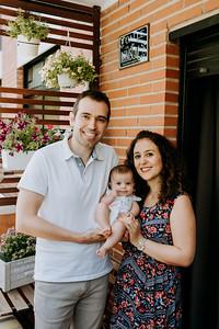 Familia Natalia y David