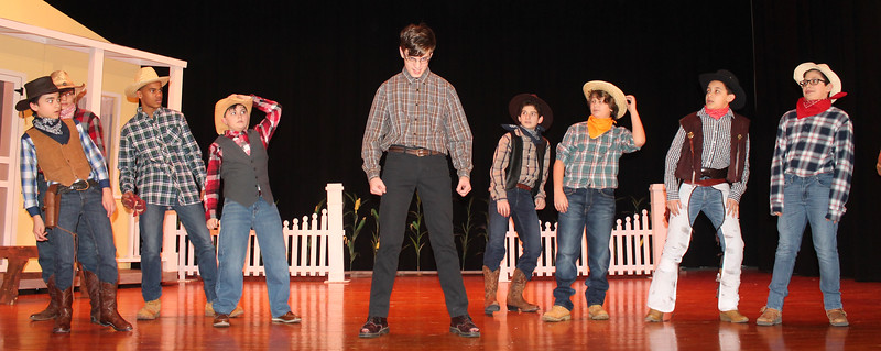 PHOTOS: Pennwood Middle School brings 'Oklahoma!' to the stage