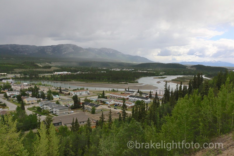 Whitehorse from Airport Trail