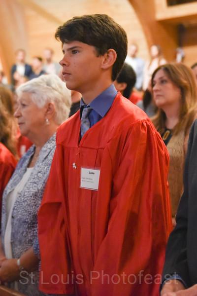 4/28/2018 - 10 AM Confirmation Mass - by Nancy Kay Lyons
