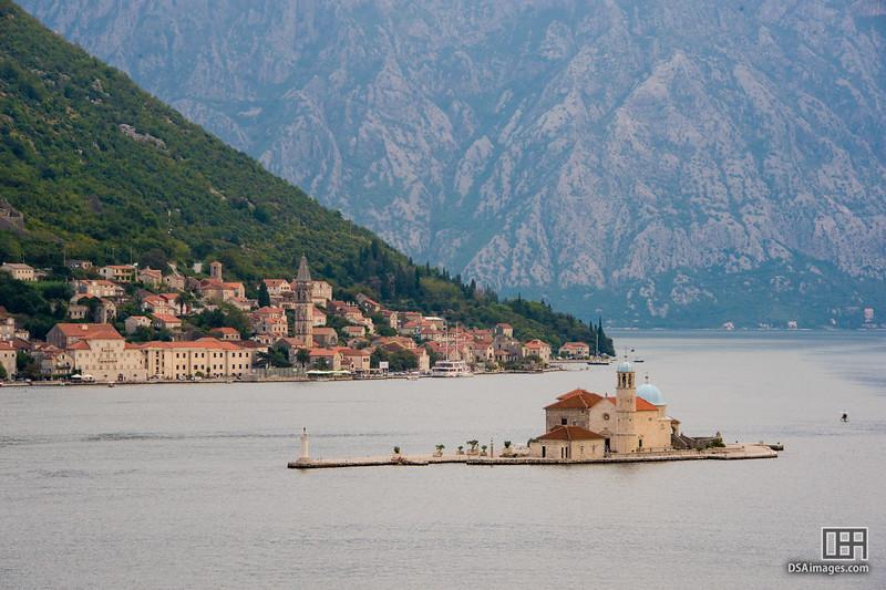 Island in Kotor Bay