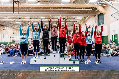 HS Sports - Gymnastics - Spartan Invite [d] Jan 30, 2016