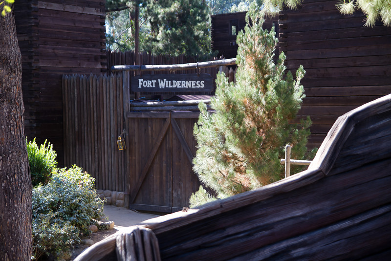 The Front of the Old Fort Wilderness