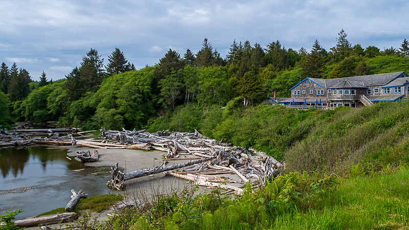 Kalaloch Lodge, Overlooking Kalaloch Creek