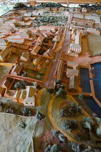 Port Arthur A model of the 19th century penal colony, which was active in the 19th century until 1870