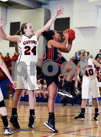 2014 District IX A Girls Basketball Semi Final Clarion vs. Port Allegany