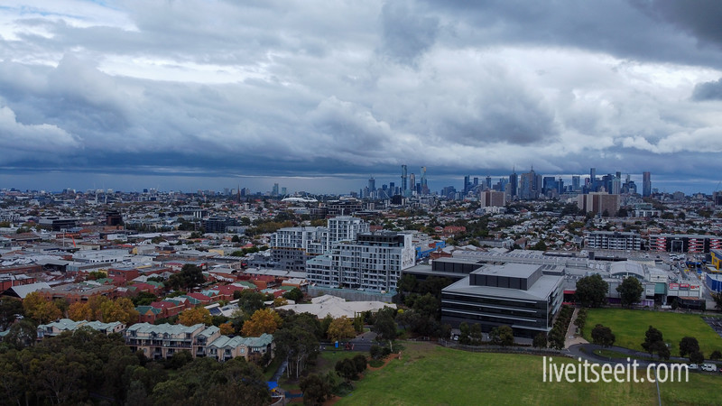29 April 2020 Weather system moving across Melbourne