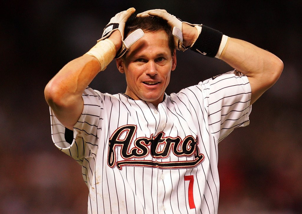 """. <p>10. (tie) CRAIG BIGGIO <p>Will have to wait one more year before becoming baseball�s most forgettable hall of famer. (2) <p><b><a href=\'http://blogs.twincities.com/sansevereshuddle/2014/01/09/no-tweet-is-sweet-when-it-comes-to-biggio/\' target=\""""_blank\""""> HUH?</a></b> <p>    (Ronald Martinez/Getty Images)"""