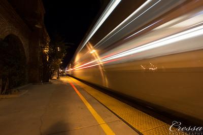 Night Trains at San Juan Capistrano - 11/11/2016